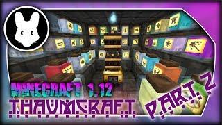 Thaumcraft Minecraft 1.12 Basic Alchemy Pt 2! Bit-by-Bit by Mischief of Mice!