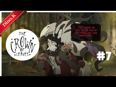 Dino.K)The Crown of Leaves Ep.7 Bloody plants speak? Is it a horror game? |