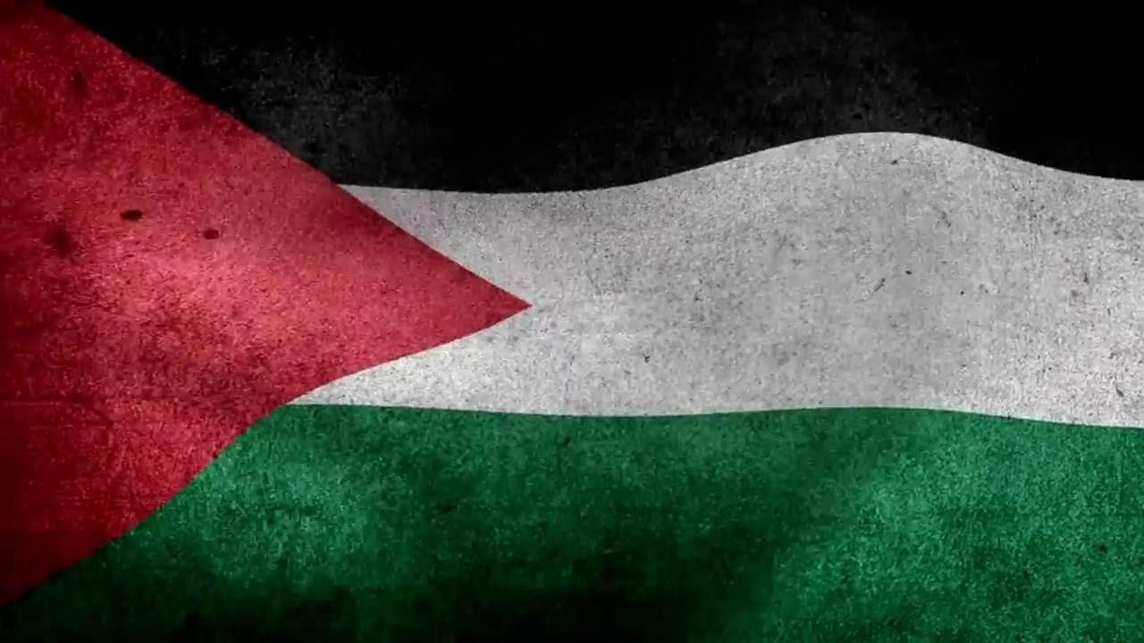 علم فلسطين متحرك Gif