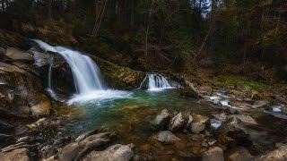 Поход в Карпаты - Сколе - водопад Каменка - Журавлиное озеро ( 5.04.2017 )(, 2017-04-06T10:06:38.000Z)