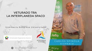 VK 2020: Internacia Kongresa Universitato: Veturado tra la interplaneda spaco