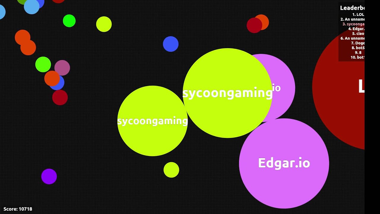 Details about how to quickly become big in the Agario