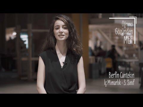 Öğrenci Gözünden MEF Üniversitesi / Berfin Cantekin - İç Mimarlık