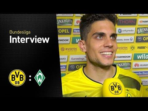 Marc Bartra im Interview   BVB - Werder Bremen 4:3