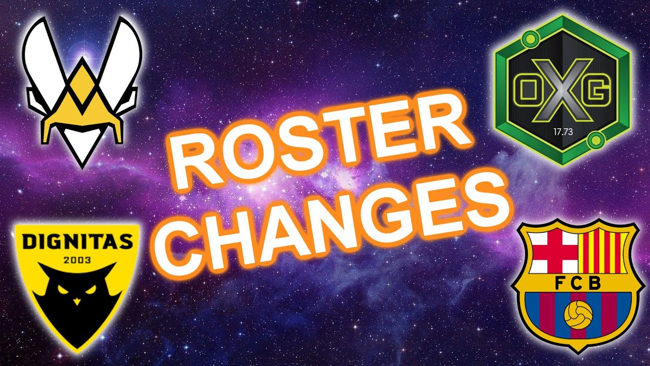 EVERY ROSTER CHANGE BEFORE RLCS X (RLCS SEASON 10 ROSTER CHANGES UPDATE *EUROPE*)