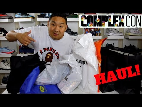 What I Copped From ComplexCon 2017!! (Entire Merch Haul!)
