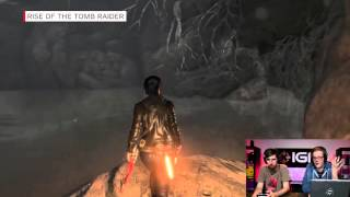 Rise of the Tomb Raider Uncovering the Secrets of a Crypt   IGN Plays Live