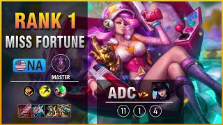 Rank 1 NA Miss Fortune Adc vs Caitlyn Patch 11.15
