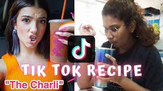I tried TikTok food recipe *DIY Charli D&#39Amelios Dunkin Donuts Iced Coffee*  RamenHairRuby