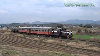 津軽鉄道 深郷田ー大沢内 85周年記念混合列車