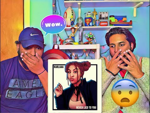 Karlaaa - Never Lied To You | Reaction | We Are In SHOCK!!