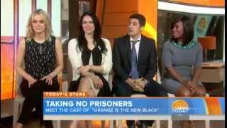 Taylor Schilling, Laura Prepon, Jason Biggs, Uzo Aduba Live On The Today Show 6/10