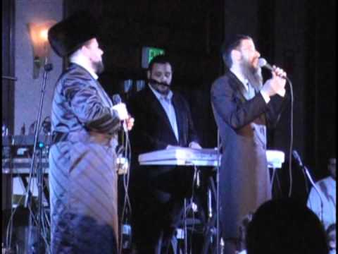 Avrohom Fried and Chazzan Helfgott 2008