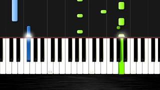 """Как сыграть мелодию из фильма """"Сумерки"""" Легко и Красиво! на пианино"""