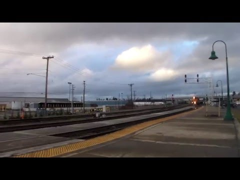 Awesome Day Railfanning Vancouver, WA w/AMTK 145, GN 3439, Heritage Grain Car and Much More!