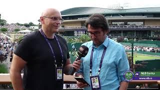 Wimbledon 2019.   Viško i Cvija odjava petog dana 5.7.2019.   SPORT KLUB Tenis