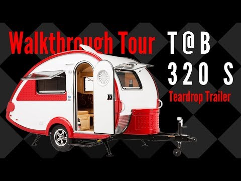 2019 T@B 320 S Teardrop Trailer Walkthrough Tour