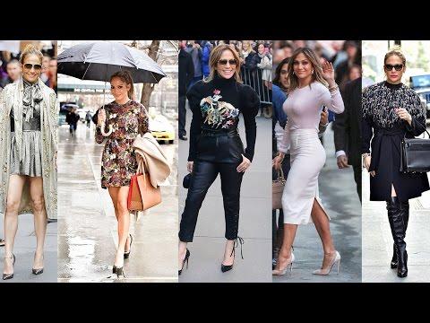 Jennifer Lopez Street Style (2017)