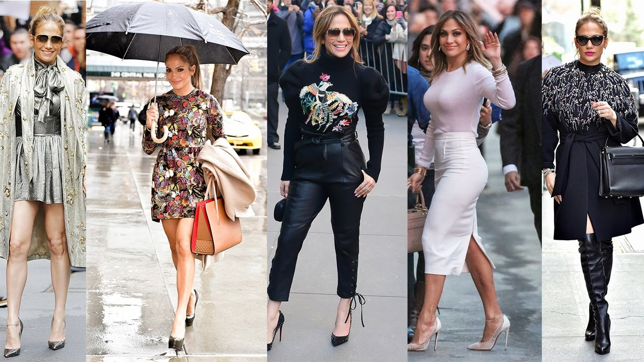 Jennifer Lopez Street Style 2017 Youtube