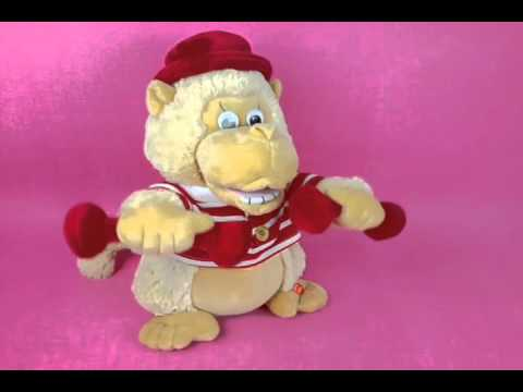 Singing and dancing musical toy SPORTY MONKEY (M 021)