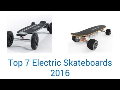 7 Best Electric Skateboards 2016