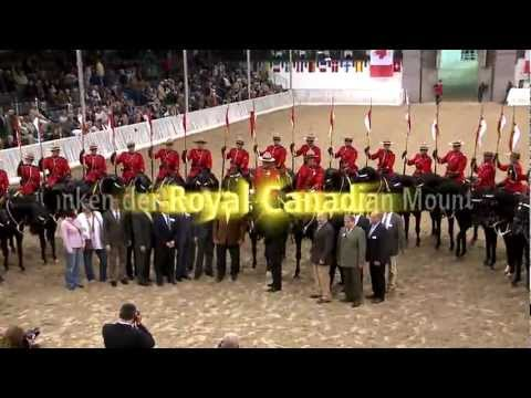 The Royal Canadian Mounted Police - Musical Ride in Verden