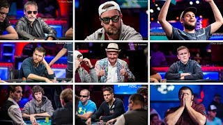 Meet the 2017 WSOP Main Event Final Table