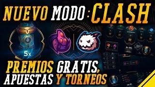 NUEVO MODO CLASH con PREMIOS GRATIS | Noticias League Of Legends LoL