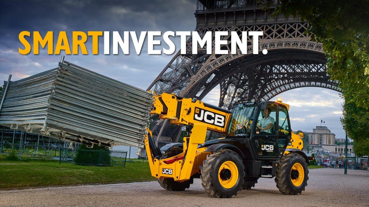 Smart Investment - JCB 540-180 HiViz Loadall