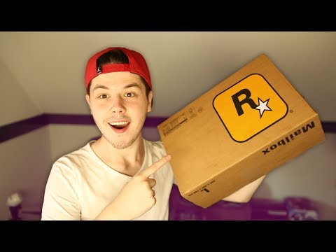 ROCKSTAR GAMES SENT ME A PACKAGE!
