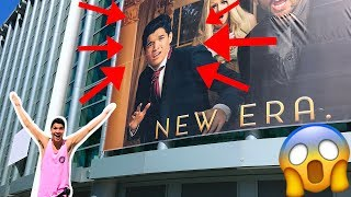 THEY PUT ME ON A BILLBOARD!