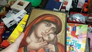 Барахолка в церкви.Нашла православную икону ! Обзор гараж сейла в Австралии.Элла Австралия