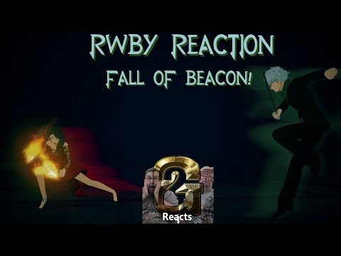 RWBY Reaction Vol 3 Episode 12 End of the Beginning