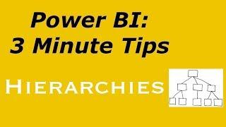Power BI: 3 دقيقة طرف الهرمية