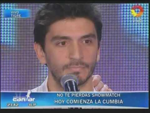 Diego Guiñazu en Soñando Por Cantar