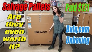 Bulq.com Salvage Pallet Unboxing - 27 Items - What is even useable? - Online reselling- Retail $2355