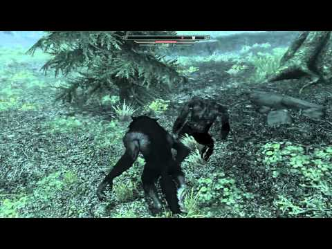 Skyrim Warewolf Vs Bigfoot
