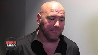 Dana White calls Khabib Nurmagomedov's actions after beating Conor McGregor 'ridiculous' | UFC 229