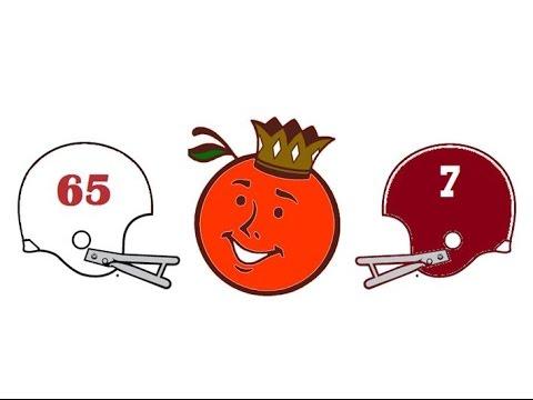 1966 Orange Bowl, #3 Nebraska vs #4 Alabama (Crimson Classics)