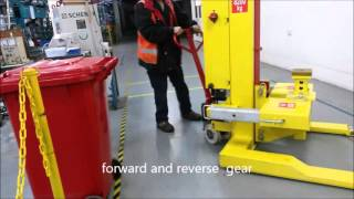 Self-propelled mobile column lifts from Ikon Lifting Equipment
