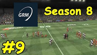 Global Rugby Manager - Season 8 Episode 9