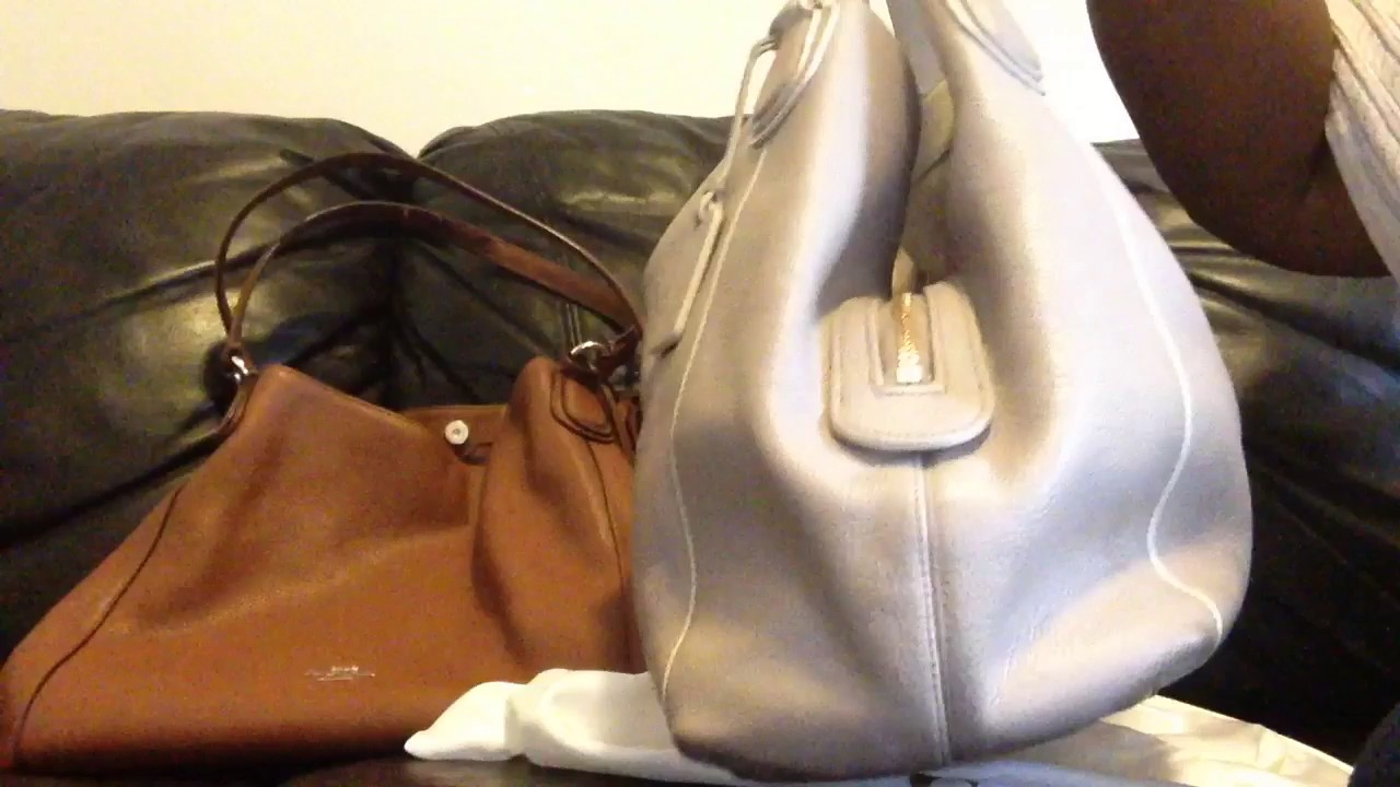 373908d57e6bb I Took The Risk On A Coach Bag  Coach Edie! - YouTube
