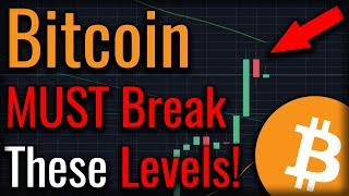 Bitcoin Rally: Bitcoin MUST Break These Three Levels! (To Start A Bull Run!)