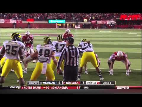 2012 - Michigan at Nebraska