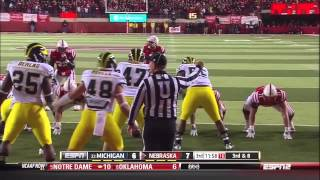 2012 Michigan at Nebraska