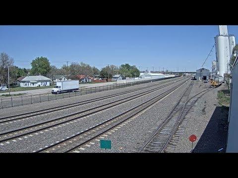 Kearney, Nebraska, USA - Virtual Railfan LIVE