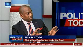 general elections money will fail in 2019   fela durotoye pt1 politics today