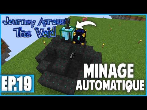 ENCORE PLUS DE MINERAIS ! | Minecraft Moddé - Journey Across The Void | Ep# 19