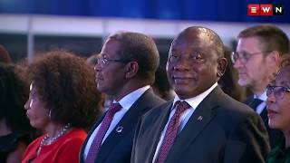 The official announcement of the results of the 2019 National and Provincial elections and President Cyril Ramaphosa's address to the nation.