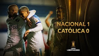Nacional vs. Universidad Católica [1-0]   RESUMEN   Fecha 5   CONMEBOL Libertadores 2021